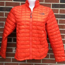the northface quilted Small lightweight jacket thermoball mens Burnt Orange