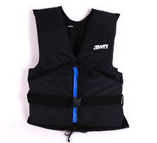 Veste de régate AWN 'black edition' gilet flottant aide à flottabilité 30-120 kg