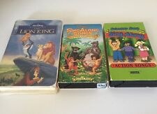 Disney Sing Along Songs VHS Lion King And Sing Along Action Songs Covenant