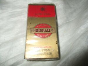VINTAGE CIGARETTE PACKET EMPTY W.D & H.O. WILLS GOLD FLAKE 10 PACK