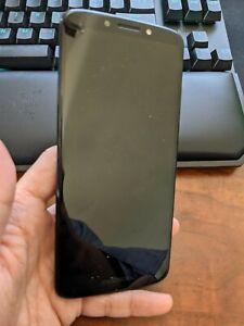 LOT of 2 Motorola Moto G6 Play - deep Indigo - 4G LTE - 32 GB - CDMA/GSM - AS IS