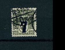 Denmark Stamp Scott # 181 Used Perfin  Cat value $5.75 (S33)