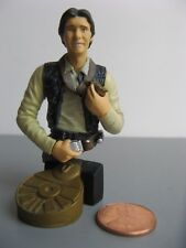 NM COMPLETE BUST-UPS Star Wars Gentle Giant figurine 1/18th scale 2004 Han Solo