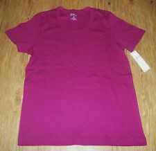 NEW~WOMENS LADIES ERIKA 100% COTTON PULL OVER SHIRT TOP~CURRANT~ SIZE M MED ~NWT