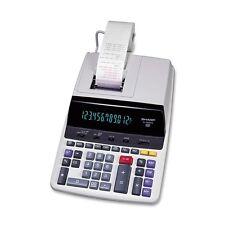 Sharp El2630piii Microban Print Display Calculator - 4.8 - Clock, Calendar, Item