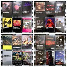 BUILD UR OWN Cassette Lot Heavy Metal - Black Sabbath, Metallica, Maiden + More!