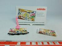 AU610-0,5# Märklin mini-club Z/DC Containerwagen 30 Jahre Messe 2002, NEUW+OVP
