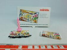 au610-0,5 # Märklin mini-club Z / DC Vagone per container 30 ANNI