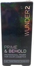 Wunder2 Prime & Behold Primer For Color Cosmetics New & Unused 0.17 fl oz