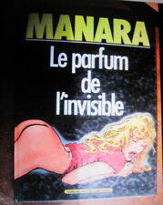 BD  MANARA  LE PARFUM DE L'INVISIBLE ECHO DES SAVANES/ ALBIN MICHEL EO 1986