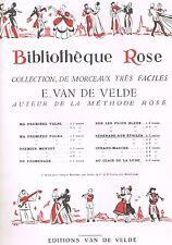 Sérénade aux Étoiles VIOLON ou MANDOLINE BIBLIOTHEQUE ROSE d'Ernest VAN DE VELDE