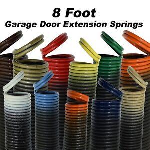 Garage Door Extension Springs for 8 Foot Tall Garage Door