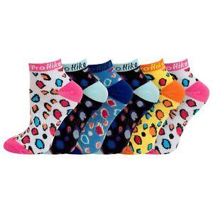 Womens 6 12 Pack Trainer Socks Compression Fit UK 4-8 EU 37-42 US 6-10