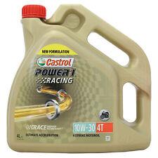 Castrol Power 1 Racing 4T 10w-30 Synthetic 4 Stroke 10W30 Bike Oil 4 Litres 4L