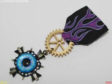 Steampunk Medal pin drape badge brooch dragon's eye game of thrones Harry Potter