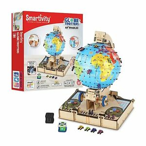 Globe Trotters Educational DIY Building ConstructionToy Learn Science Project 8+