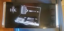 Hells Kitchen Bbq Grill Set 4 Piece With Carry Case
