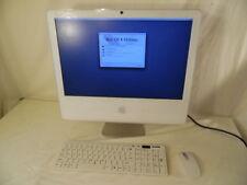 "Apple IMAC A1207 20"" Computer Desktop 128 VRAM 1 GB 250/SD/KM Mouse & Keyboard"