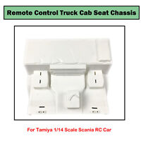 1*châssis siège de cabine camion télécommandé pour voiture Tamiya 1/14 Scania RC