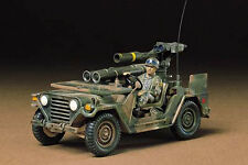 Tamiya - 1:35 Plastic Model Kit-US M151A2 Avec TOW LAUNCHER Kit-CA22 - 35125
