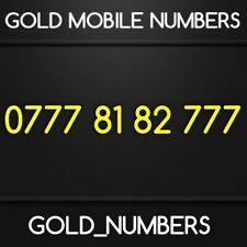 GOLD 0777 GOLDEN EASY VIP DIAMOND PLATINUM 0777 MOBILE NUMBER 07778182777