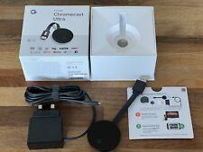 Google Chromecast Ultra Digital HD/4K Ultra HD and HDR Media Streamer - Black