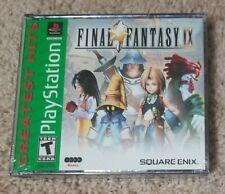 Final Fantasy 9 Ix [Greatest Hits] *Brand New* Ps1 (Sony PlayStation 1, 2000)