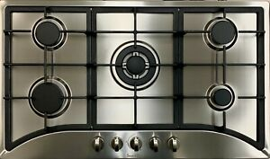 """Big Sell!35"""" 5 Burners Built-In Stainless steel CookTop Gas Stove NG/LPG"""