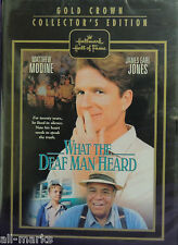"Hallmark Hall of Fame ""What The Deaf Man Heard""  DVD - New & Sealed"