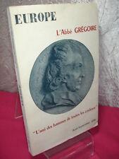 """EUROPE /  ABBÉ GRÉGOIRE  """" l'ami des hommes de toutes les couleurs """""""