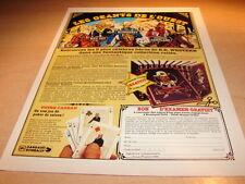 MAC COY - BLUEBERRY - CARTLAND !!!!!!!!!RARE PUBLICITE