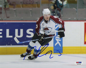 Milan Hejduk SIGNED 8x10 Photo Colorado Avalanche ITP PSA/DNA AUTOGRAPHED