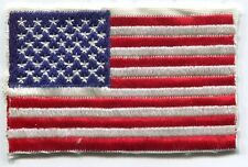US Army American Flag Military Uniform Arm Red White & Blue Color Patch