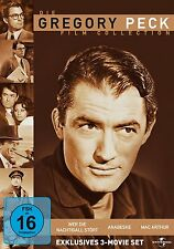 GREGORY PECK BOX Mac Arthur WER DIE NIGHTINGALE INTERFÈRE AVEC Arabesque 3 DVD