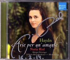 Nuria RIAL Signiert HAYDN Arie Per Un'Amante Margot OITZINGER Michi GAIGG CD DHM