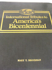 56 FDC Tribute to America's 1976 Bicentennial International Stamps Album