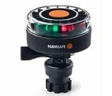 Navigation Light  Battery LED Tri Color Running Light Base incl.