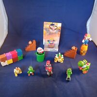 Mixed Bunch Of SUPER MARIO Action Figures NINTENDO