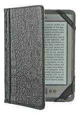M-edge Kindle 4 Go! chaqueta Funda Reptil Negro
