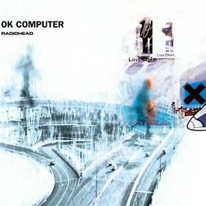RADIOHEAD Ok Computer BANNER HUGE 4X4 Ft Fabric Poster Tapestry Flag album cover
