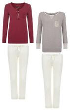 Cotton Patternless Pyjama Sets Regular Nightwear for Women