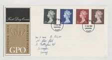 UNITED KINGDOM FIRST DAY COVER HIGH VALUE DEFINITIVE 05/3/1969 MINT & ADDRESSED