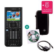 TI Nspire CX CAS Grafikrechner + Schutztasche Lern-CD Ladekabel Garantie