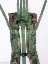 Woodland Shoulder Straps for MOLLE II Back Pack Frame New in Bag + lower Straps