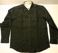 WWII US ARMY M1938 OFFICER WOOL FIELD SHIRT-SMALL 38R