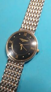 Mens Longines Gold And Silver Dress Watch