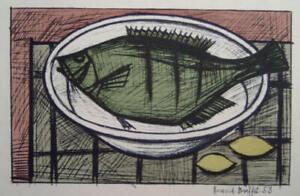 Bernard Buffet - Fish