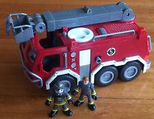 Imaginext Fire Engine Truck, Extendable Ladder, Lights & Sounds incl 2 Figures!