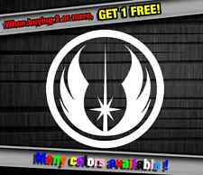 Star Wars Jedi Sign Funny Vinyl Sticker Decal Graphic Car Truck Wall Cell Laptop