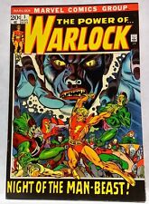 POWER OF THE WARLOCK # 1 (1972) VF